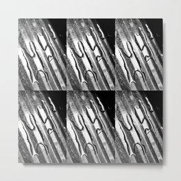 Sinking 6 Grey edition Metal Print