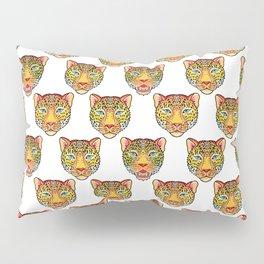 tattoo style leopard head Pillow Sham
