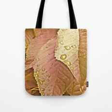 cherry leaves Tote Bag