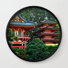 SF Japanese Tea Garden Study 21 Wall Clock
