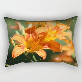 Day Lily Dance Rectangular Pillow