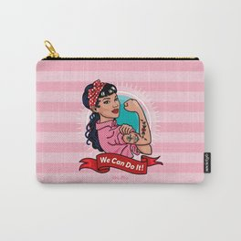 Rockabella - We can Do it! Carry-All Pouch