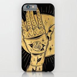 GOLDEN KNIGHT iPhone Case