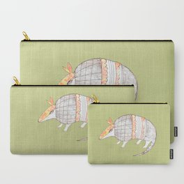 Stich and Fauna:  Armadillo Carry-All Pouch