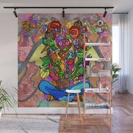 Vegetable Garden Wall Mural