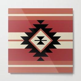 Aztec pattern 5 Metal Print