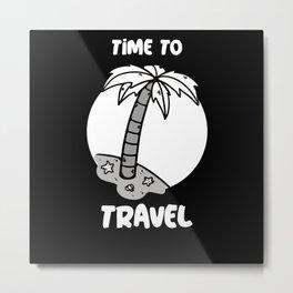 Time To Travel Metal Print