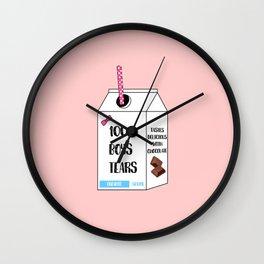 boys tears Wall Clock