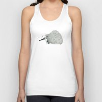 badger Tank Tops featuring Badger by rhian wright