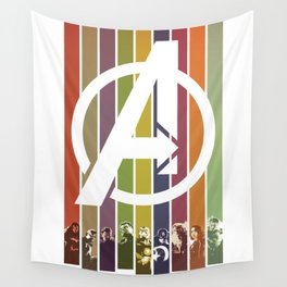 VINTAGE OF ULTRON Wall Tapestry