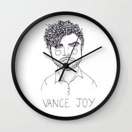 Vance Joy Wall Clock