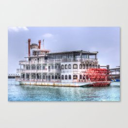New Orleans Paddle Steamer Canvas Print