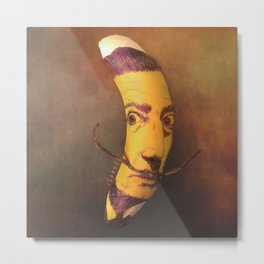 Salvador Bananali Metal Print