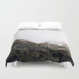 The Mountains VI / Bavarian Alps Duvet Cover