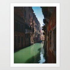 Venetian Sun Art Print
