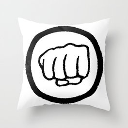 Fist Throw Pillow