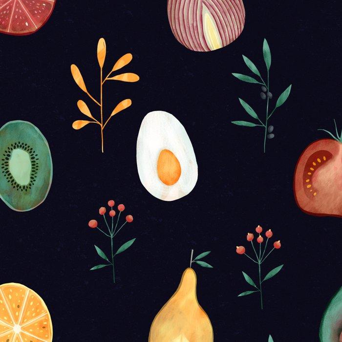 Vegetables pattern Leggings