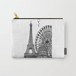 Paris Silhouettes Carry-All Pouch