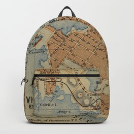 Vintage Victoria British Columbia originally produced in (1907) Backpack