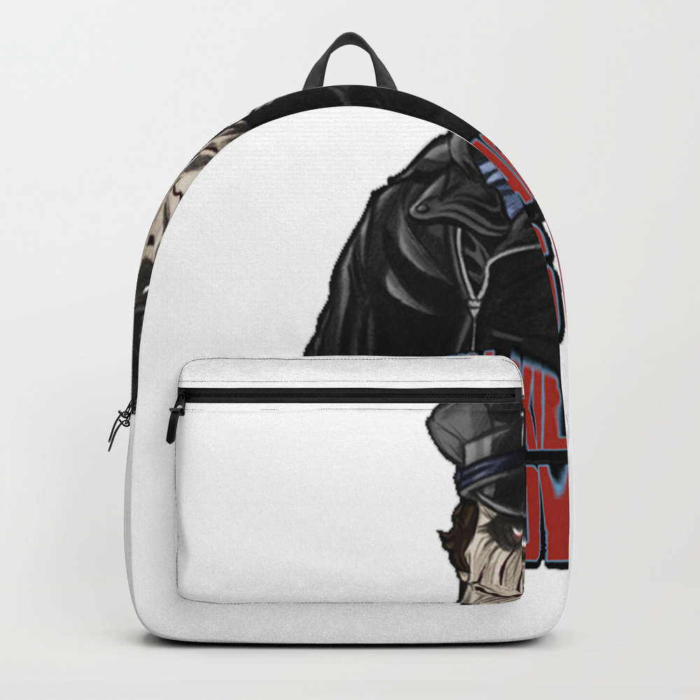 He Enjoys Killing! Backpack by Monarchy70612 BKP7566776