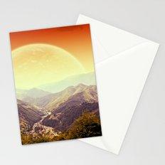 Highland Sunset  Stationery Cards
