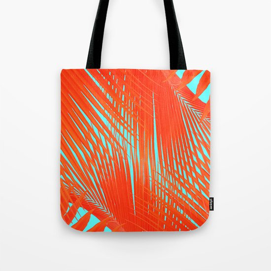 Flame Frenzy Tote Bag