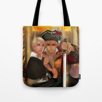 hetalia Tote Bags featuring Conquer by Mieu