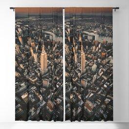 tall skyscraper in manhattan Blackout Curtain