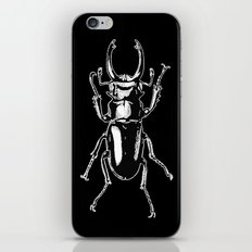 long toothed stag beetle iPhone & iPod Skin