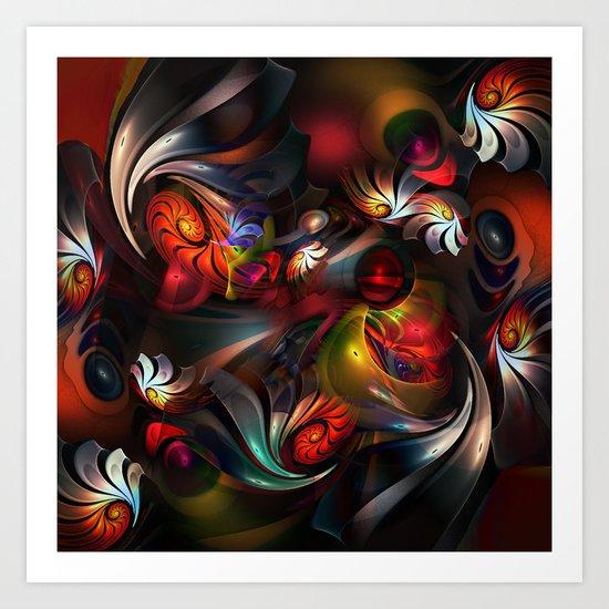 Whirlabout Art Print