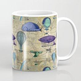 Around the World Vintage Coffee Mug