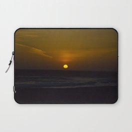 Sunset across the Ocean Laptop Sleeve