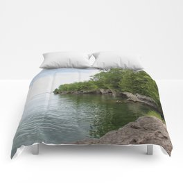 Cave Point County Park Comforters