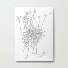 Mossy Mind Metal Print