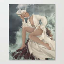Ghostly Sighting Canvas Print