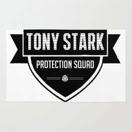 protection squad Rug
