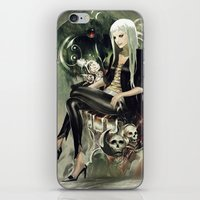 witch iPhone & iPod Skins featuring Witch by Lappisch