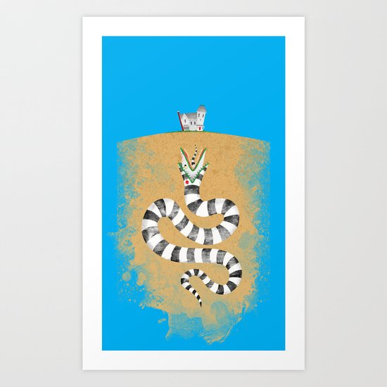 Recently Deceased Art Print