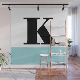Monogram Letter K-Pantone-Limpet Shell Wall Mural