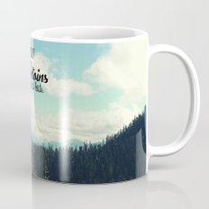 To the Mountains and Back Mug