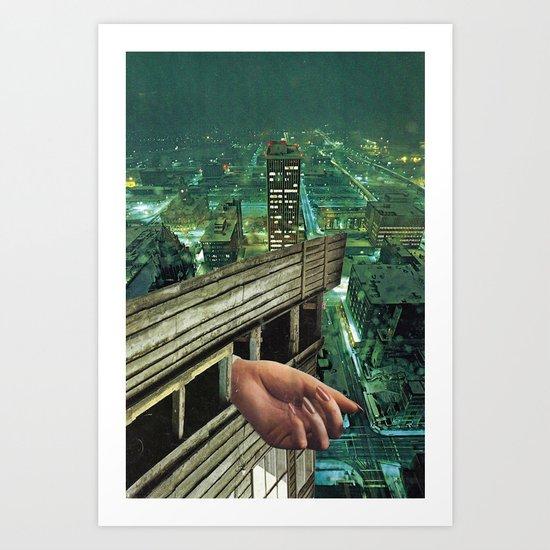 four fingers Art Print