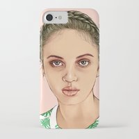 venus iPhone & iPod Cases featuring VENUS by Laura O'Connor