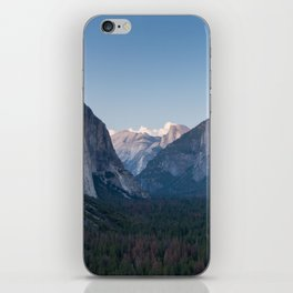 A Look At the Valley From Tunnel View in Yosemite iPhone Skin