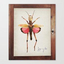gregor-my love Canvas Print