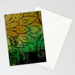 Flower avante Stationery Cards