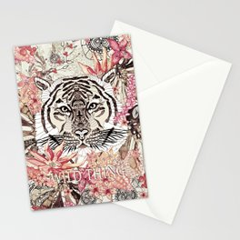 TIGER - WILD THING JUNGLE Stationery Cards