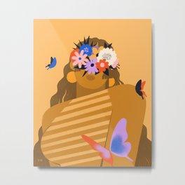 Flowers In Their Eyes Metal Print