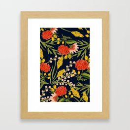 Chasing Colors Framed Art Print