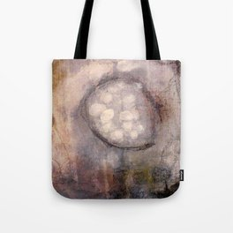 Lost Eye - Mixed Media Acrylic Abstract Modern Art, 2009 Tote Bag