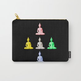 Five Buddhas Carry-All Pouch